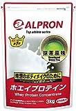 アルプロン トップアスリートシリーズ ホエイプロテイン100 抹茶(3kg)