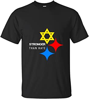 Pittsburgh Steelers Stronger Than Hate T-Shirt