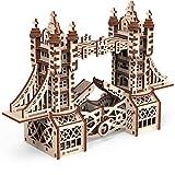 Mr. Playwood Puzle 3D de Torre Puzle de madera para modelismo, juego de construcción de maquetas, juego de construcción de maquetas, para adultos y niños