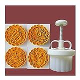 Kebyy - Stampi per biscotti a forma di luna, 150 g, con spessore regolabile, per biscotti di Natale, fai da te