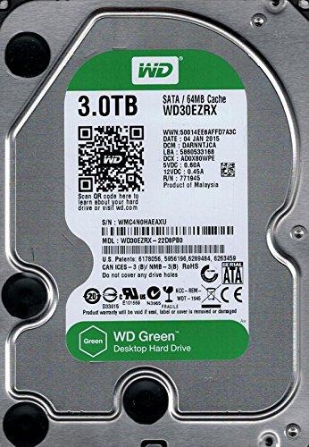 Western Digital wd30ezrx-22d8pb03TB DCM: darnntjca