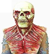 Revolveryy Halloween Horror Scary Alien Alien Old Man Headgear Ghost Detective Zombie Walking Dead Zombie Devil Mask Color:Colorful