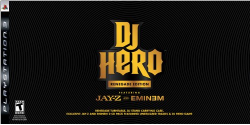 PS3 DJ Hero Renegade Edition Featuring Jay-Z and Eminem - http://coolthings.us