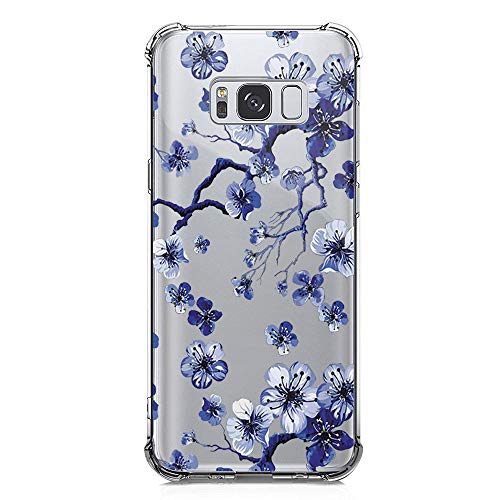 Hülle Kompatibel mit Samsung Galaxy S8 Plus Hülle Galaxy S8 Plus Silikon Handyhülle Crystal Clear Ultra Dünn Transparent Weich Silikon Slim Schutzhülle für Samsung Galaxy S8 Plus Cell Phone (8)