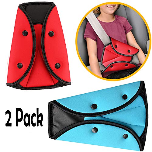 Adjuster Comfortable Safety Harness Pads Cover Triangle Seat Belt Fix Car Child