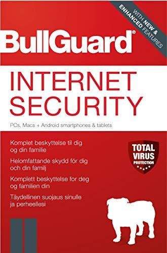 Bullguard Internet Security 2020 3U Win Jahreslizenz, 3 Lizenzen Windows Sicherheits-Software