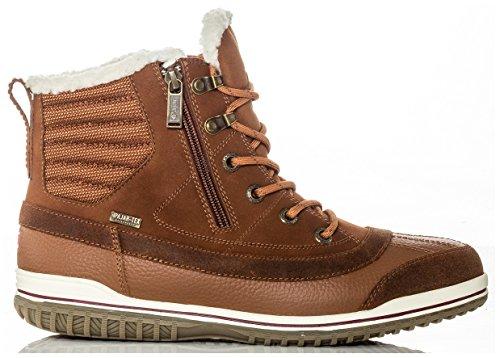 PAJAR Men's Pummel Boots, Cognac, 42