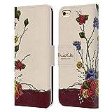Head Case Designs sous Licence Officielle Frida Kahlo Arbuste Florals Rouge Coque en Cuir à...