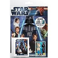 Universal Trends Star Wars to90442–Movie Sticker Starter Pack