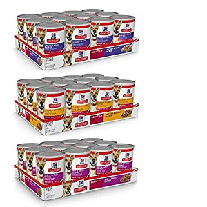 Hill's Science Diet Adult Canned Wet Dog Food Variety Pack, Healthy Cuisine Chicken and Beef Recipes, 12.5 oz, 12 pk, White