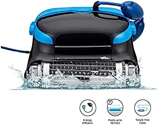 XKRSBS Nautilus CC Plus Automatic Robotic Pool Cleaner with Easy to Clean Large Top Load Filter Cartridges and Tangle-Free Swivel Cord, Ideal for In-Ground Swimming Pools Up to 50 Feet