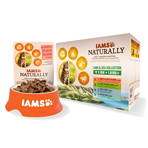 IAMS Naturally Chat Adulte Humid...