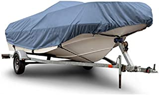 Empire Rust-Oleum NeverWet Boat Storage Cover Fits V-Hull Boats 16'-18.5' Long Beam Width 98