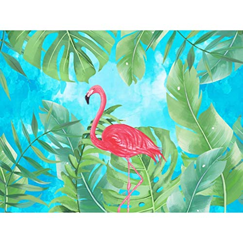 5D Diamond Painting Kits for Adults, Kids. Room Decoration, Home, Office, Gift for Art Crafts Flamingo Walking 15.7x11.8 in By Bemaystar
