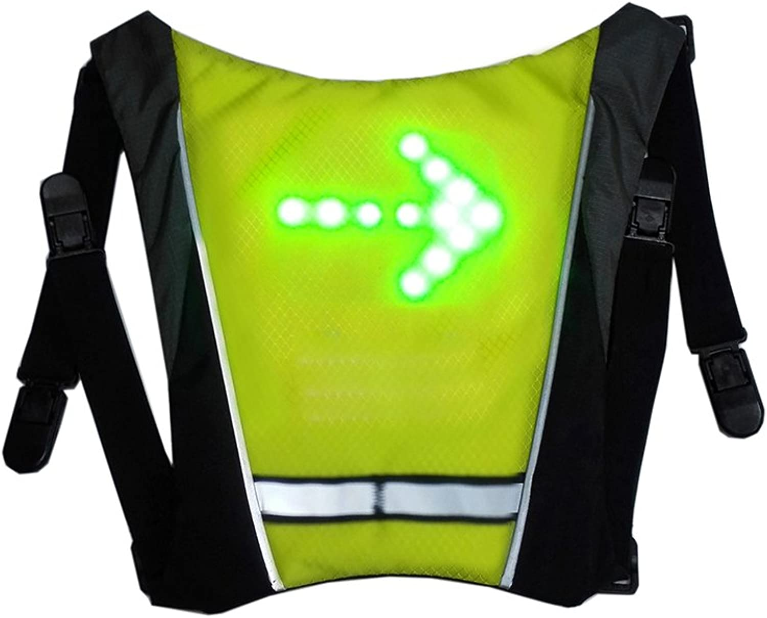 Backpack Warning Wireless Remote Control LED Running for Jogging Biking Camping Hiking Running Backpack Mini Accessory Luminous