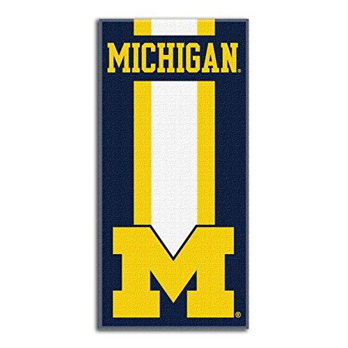 Northwest NCAA Michigan Wolverines  Beach Towel,  30 x 60-inch