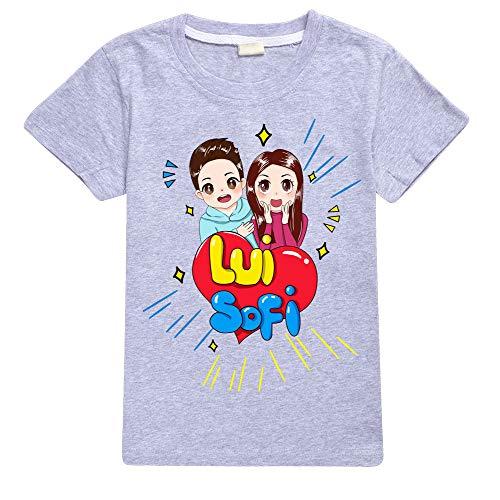 Maglietta Youtuber Fumetto Lui Bambino e Sofi Bambina