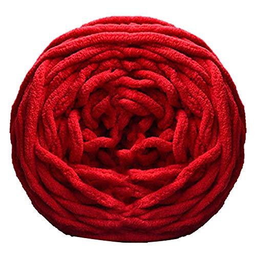 floatofly Varios colores DIY bufanda suave suéter sombrero gorra, toalla gruesa hilo de tejer...