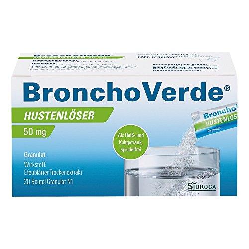 BronchoVerde Hustenlöser 50 mg Granulat, 20 St
