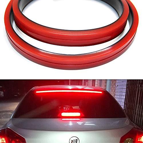 Tira de luz LED universal para tercer freno, 5 funciones, 40 pulgadas, flexible,...