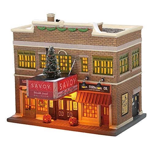 Department 56 'Christmas in the City the Savoy Ballroom Lit House, 7.17-inch High