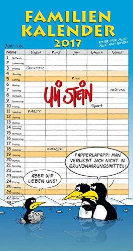 Uli Stein Familienkalender 2017