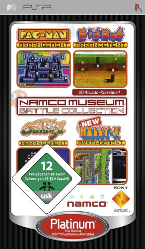 Namco Museum: Battle Collection [Platinum] [Importación alemana]