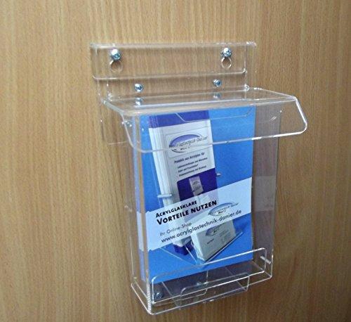 Flyer Box Prospekt Box DIN A6 wetterfest für Außen,Outdoorbox