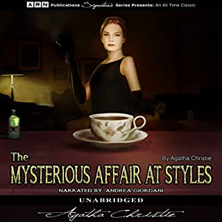 Couverture de The Mysterious Affair at Styles