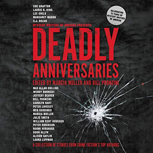 Deadly Anniversaries audiobook cover art