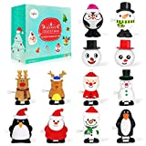 heytech Wind-up Toys 12 Pieces Assorted Toys for Kids Party Favors Gift for Christmas Birthday Thanksgiving