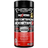 Testosterone Booster for Men | Six Star Pro Nutrition | Test Booster Supplement | Extreme Strength + Enhances Training Performance + Scientifically Researched | Maintain Peak Testosterone, 60 Capsules