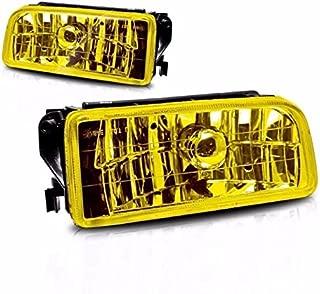 Yellow Lens Fog Light Bumper Lamps Pair For 1992-1998 BMW E36 M3 3 Series New