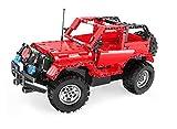 CaDA Ferngesteuerter Jeep Wrangler , 531 Teile,