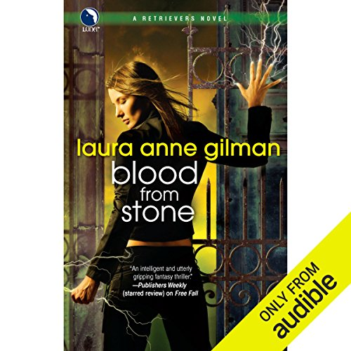 Blood from Stone     A Retrievers Novel              By:                                                                                                                                 Laura Anne Gilman                               Narrated by:                                                                                                                                 Emma Woodbine                      Length: 10 hrs and 33 mins     42 ratings     Overall 4.4