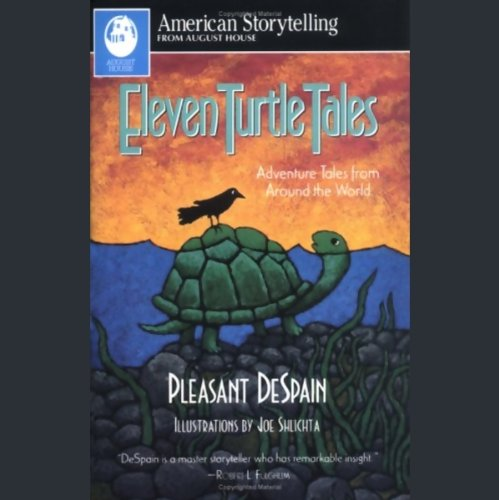 Eleven Turtle Tales audiobook cover art