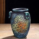XHZJ Estilo de ollas de cerámica Vintage 6, ollas de condimento, ollas maestras,...