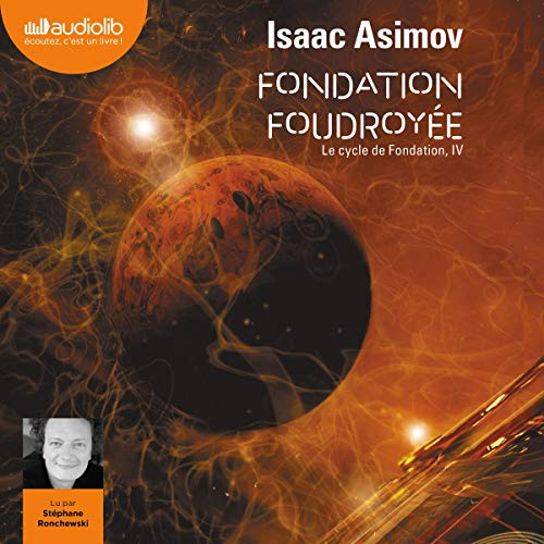 Fondation foudroyée audiobook cover art