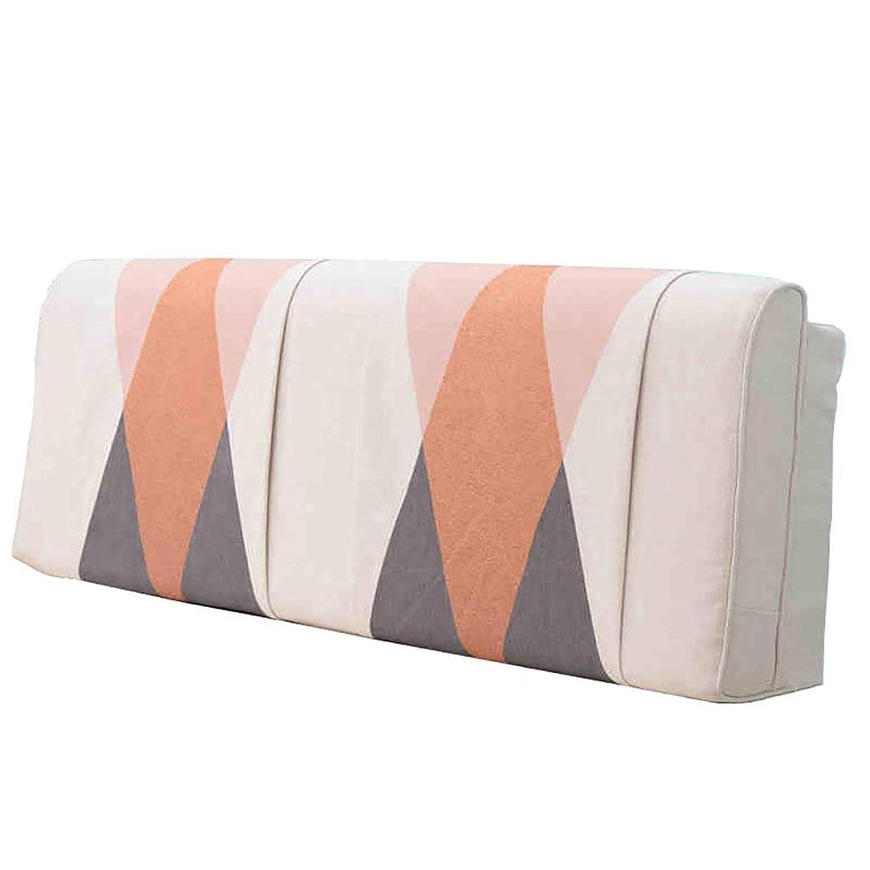 自伝ガイドライン送料SXT クッションダブルベッド長枕背もたれ枕ソファソフトバッグ (Color : A, サイズ : [bedside] 120X58cm)