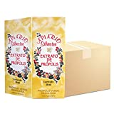 Official Distributor - 1 Box (25 Bottles) Apiario Silvestre Brazilian Green Bee Propolis Liquid - Cereal Alcoholic Extract 30 ml