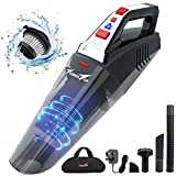 TowerTop Handheld Vacuum, Cordless Vacuum Cleaner, Portable Rechargeable Vacuum Cleaner Handheld, Lightweight Wet/Dry