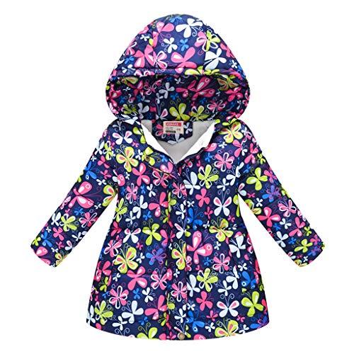 TUDUZ Abrigo con Capucha Bebé Floral A Prueba De