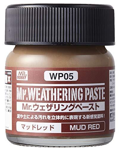 GSIクレオス Mr.ウェザリングペースト マッドレッド 40ml プラモデル用塗料 WP05