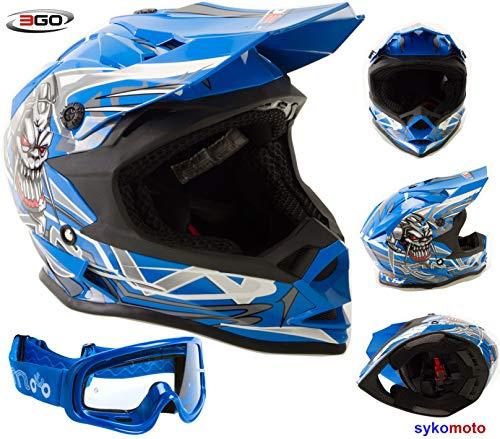 ECE Approvato 3GO CASCHI Moto da Uomo E335 Adulti Casco Moto Modulare Sportivo Touring Scooter Flip-up Racing apribile con Doppia Visiera