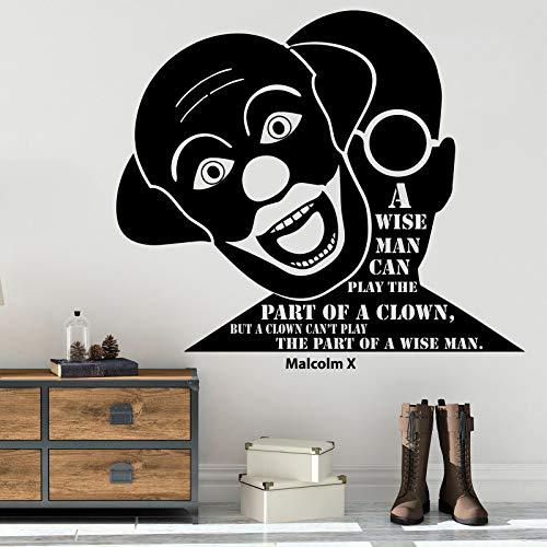 Tianpengyuanshuai Fototapete Leben inspirierend Zitat Schriftzug Tür kreative Vinyl Aufkleber Teen Schlafzimmer männlich Hauptdekoration 42x47cm