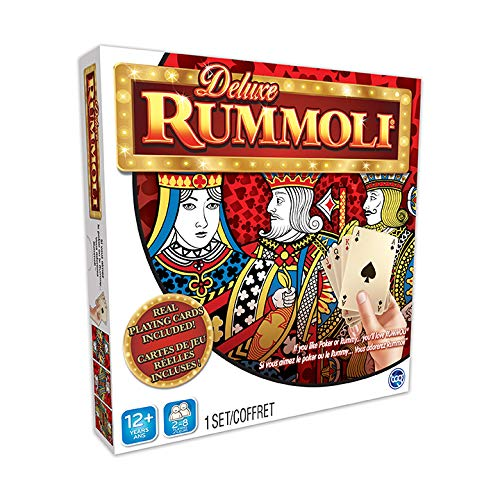 TCG Toys Deluxe Rummoli Game w Board 20 X 20  If You Like Poker Or RummyYou#039ll Love Rummoli Multicolor