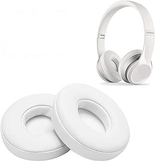 WADEO Ersättning av öronkuddar hörlurar byte öronkuddar öronkudde öronkoppar för Beats by Dr. Dre Solo 2.0 On-Ear trådlösa...