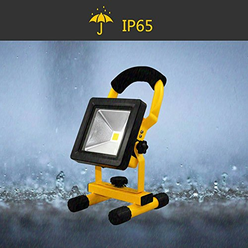 HG® 10W blanc froid LED batterie Lampes de travail Projecteurs Sitelamp Baladeuse Campinglamp...