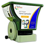 Natural Alternative, Inc. Handheld Multi-Purpose Broadcast Spreader for Ice Melt, Lawns and Gardens (80014)