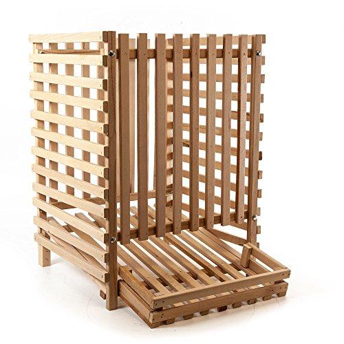 Holzfee Kartoffelkiste Holz-Stiege (100 kg)